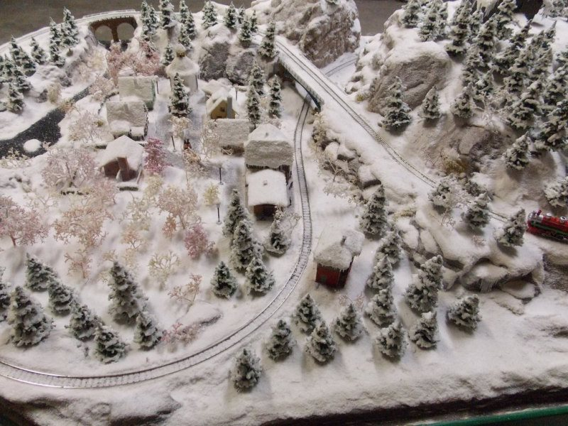 Christmas track layout