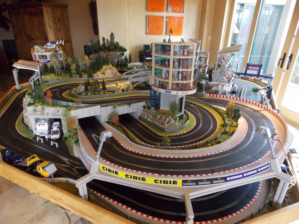 Cleaning Slot Car Racing Track